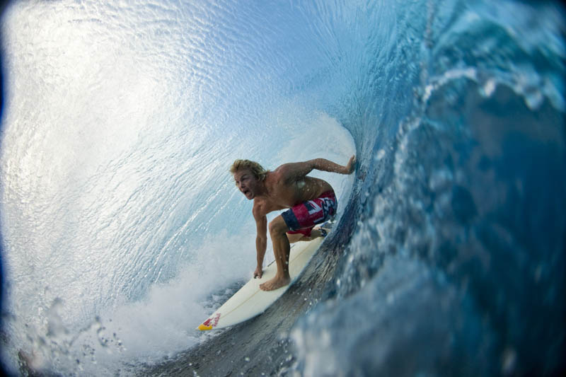 inside barrel of wave jamie obrien in tahiti Picture of the Day: Inside the Barrel