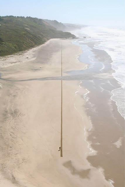 jim denevan giant beach sand art 3 The Colossal Land Art of Jim Denevan [30 pics]