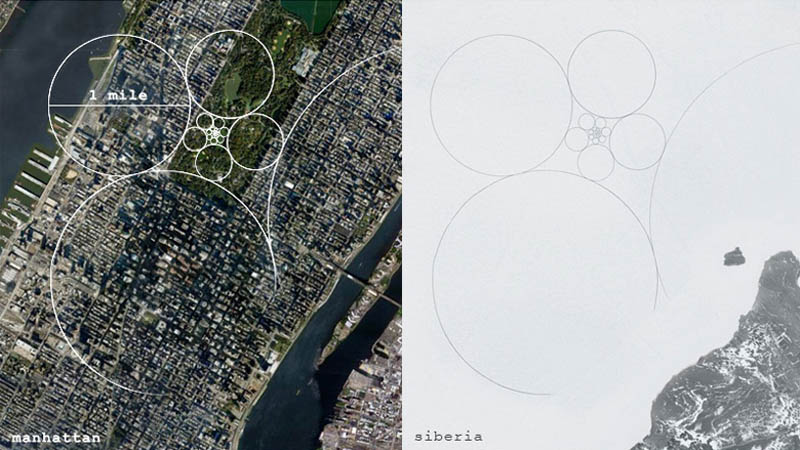 jim denevan giant ice art circles siberia 3 The Colossal Land Art of Jim Denevan [30 pics]