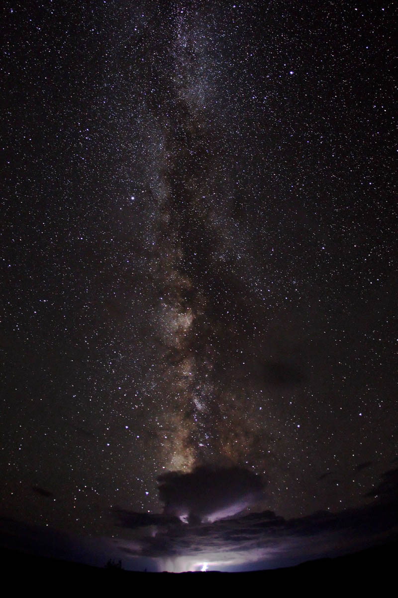 milk way galactic moonsoon thunderstorm Picture of the Day: Galactic Monsoon