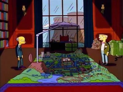 mr burns blocking out the sun Italian Village Builds Giant Mirror to Combat 83 Days of Darkness