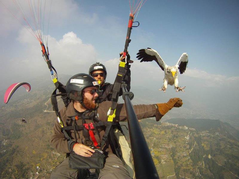 parahawking in nepal Volcano Boarding at Cerro Negro in Nicaragua