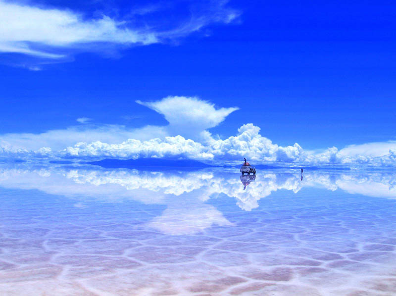 salar de uyuni after some rain bolivia salt flats The Top 75 Pictures of the Day for 2012
