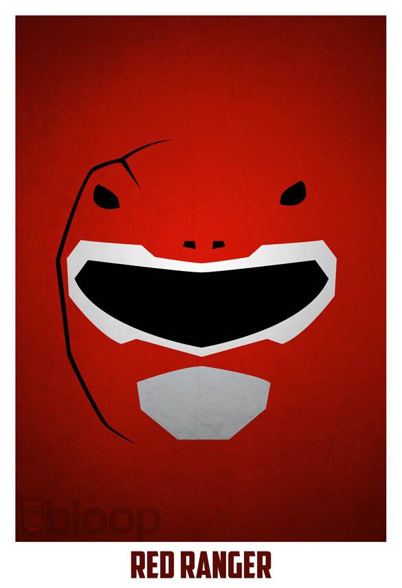 superheroes and villains minimal art posters by bloop 4 Minimalist Superheroes and Villains Posters