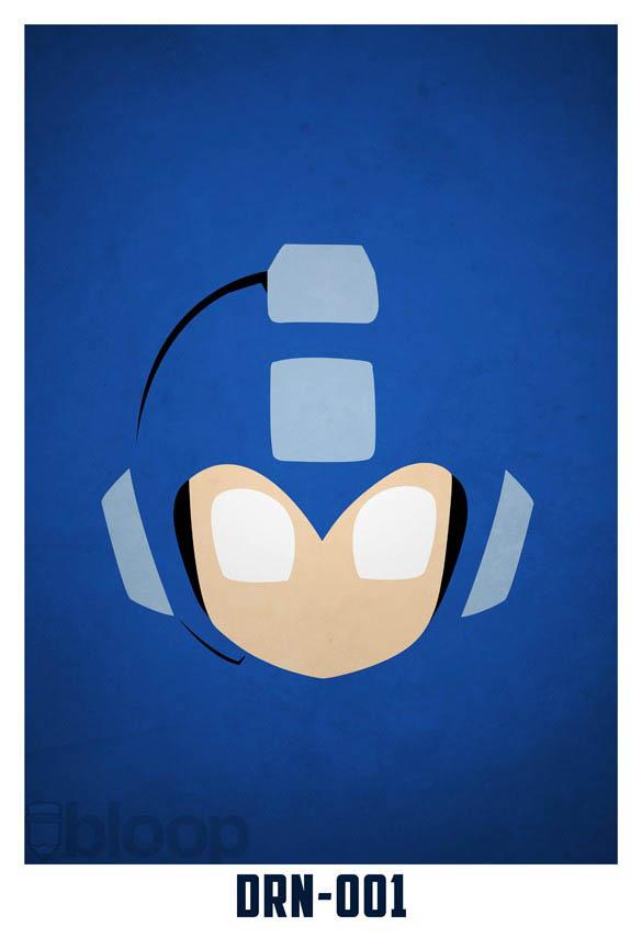 superheroes and villains minimal art posters by bloop 5 Minimalist Superheroes and Villains Posters