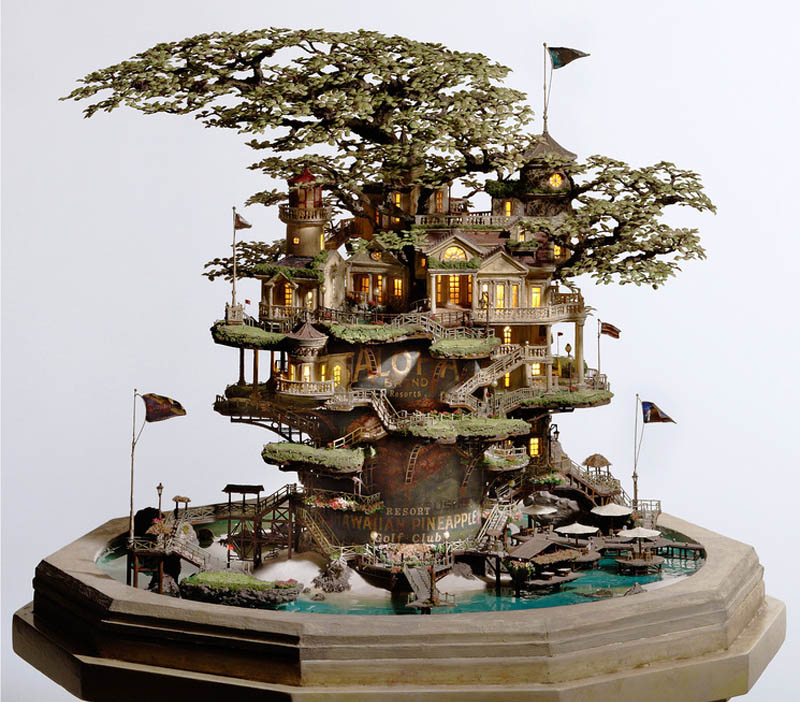 takanori aiba japanese artist sculptures Amazing Miniature Sculptures by Takanori Aiba