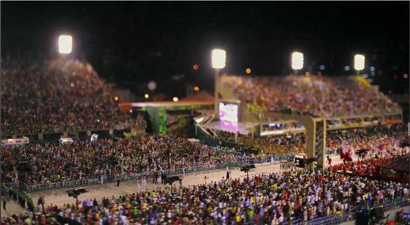 tilt shift rio carnival 2 Tilt Shift Carnival in Rio de Janeiro