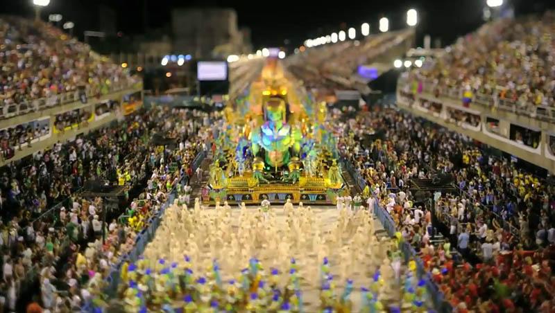 tilt shift rio carnival 3 Tilt Shift Carnival in Rio de Janeiro