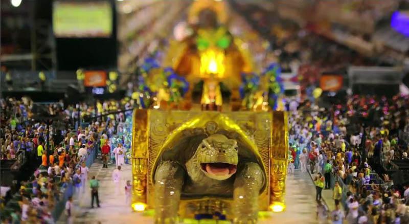 tilt shift rio carnival 6 Tilt Shift Carnival in Rio de Janeiro