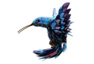 10 Amazing Animals Sculptures Made from Shattered CDs