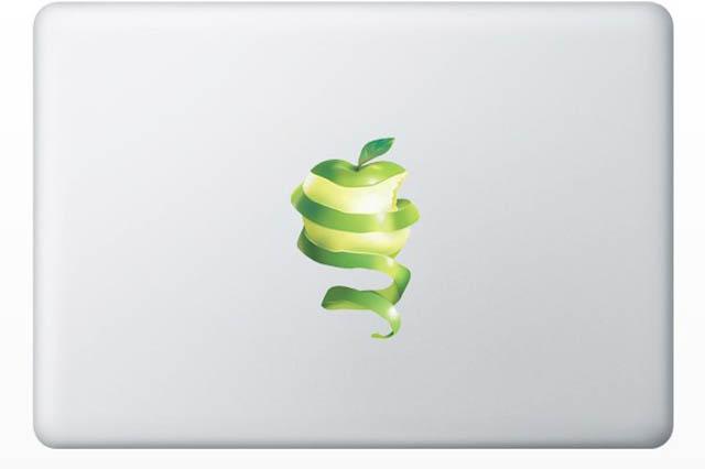 apple macbook decal sticker 50 Creative MacBook Decals and Stickers