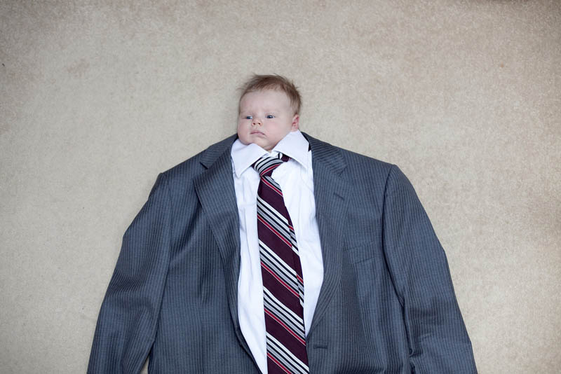 babies in big suits The Shirk Report   Volume 152