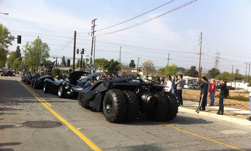 batmobiles rear shot Picture of the Day: A Batmobile Bonanza!