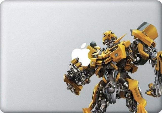 bumble bee macbook decal 50 Creative MacBook Decals and Stickers