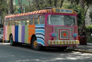 Picture of the Day: Yarn Bombing a Bus in Mexico City