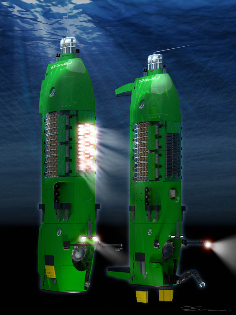 dcvassembly yellow v5 Everything You Need to Know About James Cameron and the Deep Sea Challenge