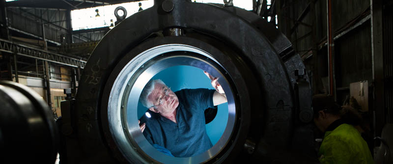 deep sea challenger submarine torpdeo james cameron 4 Everything You Need to Know About James Cameron and the Deep Sea Challenge