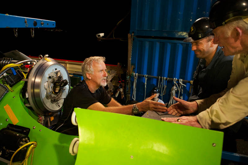 deep sea challenger submarine torpdeo james cameron 8 Everything You Need to Know About James Cameron and the Deep Sea Challenge