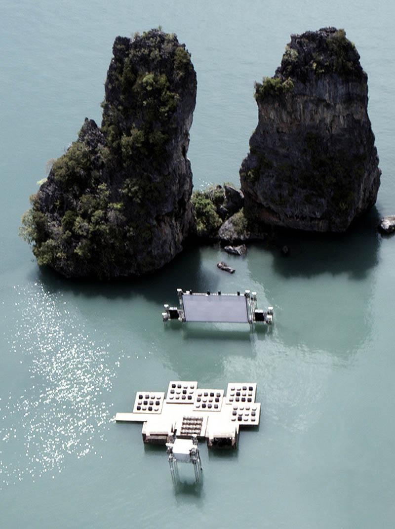floating cinema movie theatre thailand archipelago 5 Amazing Floating Cinema in Thailand