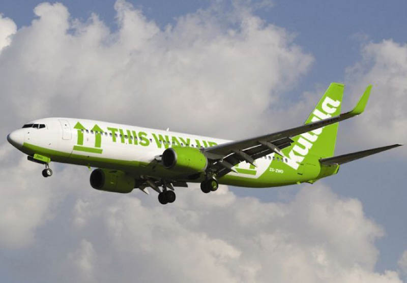 funny airline fleet paint job green kulula 1 This Airline has the Best Fleet of Planes Ever!