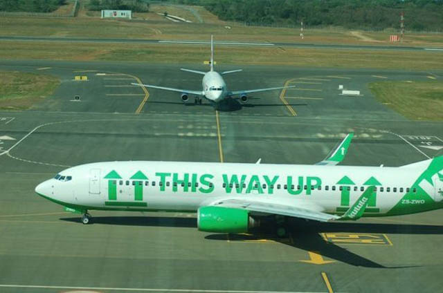 funny airline fleet paint job green kulula 2 This Airline has the Best Fleet of Planes Ever!
