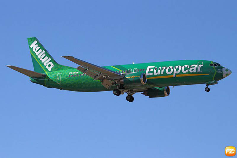 funny airline fleet paint job green kulula 5 This Airline has the Best Fleet of Planes Ever!