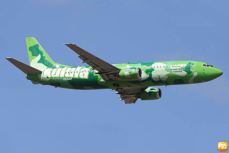 funny airline fleet paint job green kulula 6 This Airline has the Best Fleet of Planes Ever!