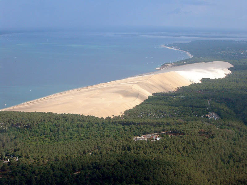great dune of pyla tallest sand dune in europe The Tallest Sand Dune in Europe