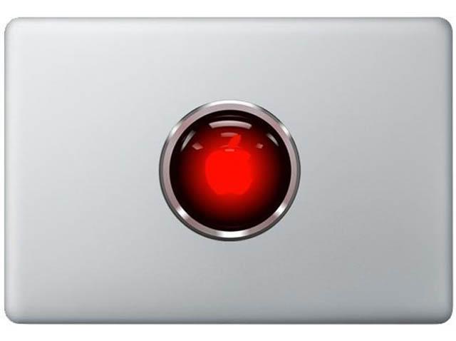 hal macbook decal sticker 50 Creative MacBook Decals and Stickers