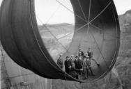 Picture of the Day: Hanging Out High Above the Hoover Dam