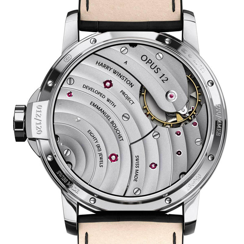 harry winston opus 12 emmanuel bouchet 8 A Most Complex Timepiece
