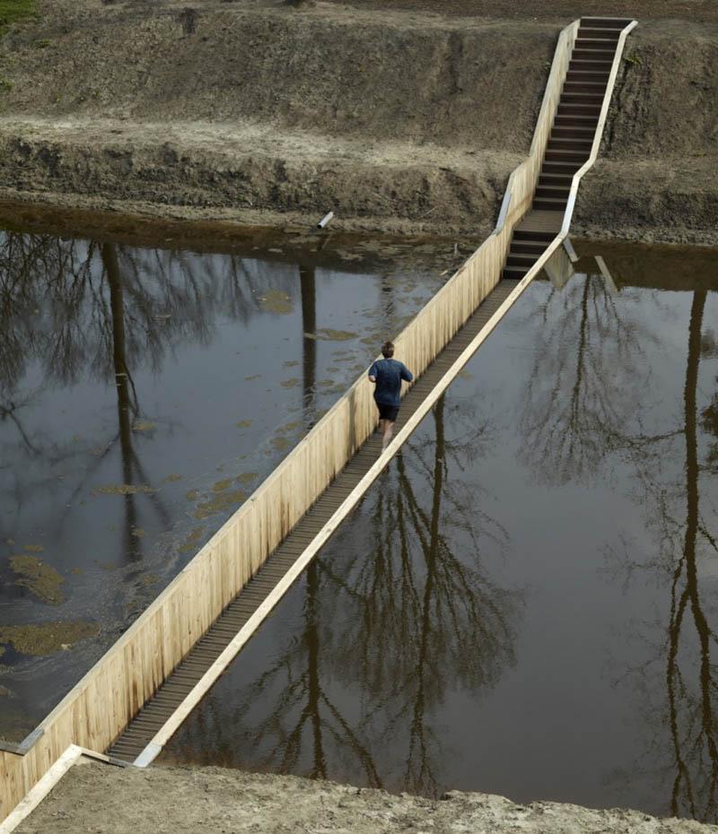 invisible sunken bridge the netherlands holland moses bridge 4 An Invisible Bridge in The Netherlands