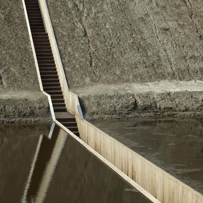 invisible sunken bridge the netherlands holland moses bridge 9 An Invisible Bridge in The Netherlands