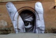 Picture of the Day: JR & Liu Bolin Street Art Collabo in NYC