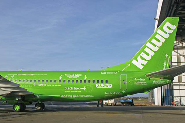 kulula flying 101 plane decals funny design 2 This Airline has the Best Fleet of Planes Ever!