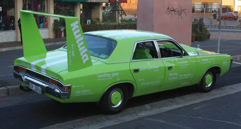 kulula green branded car driving 101 2 This Airline has the Best Fleet of Planes Ever!
