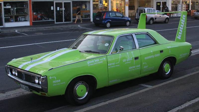 kulula green branded car driving 101 3 This Airline has the Best Fleet of Planes Ever!
