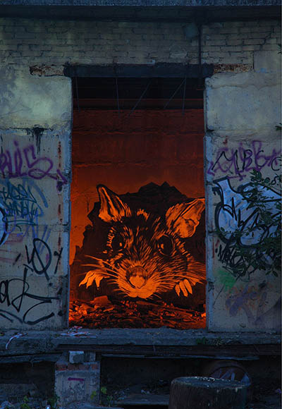 pavel p183 street art russian banksy banksi 18 16 Fresh Pieces by Russian Street Artist P183