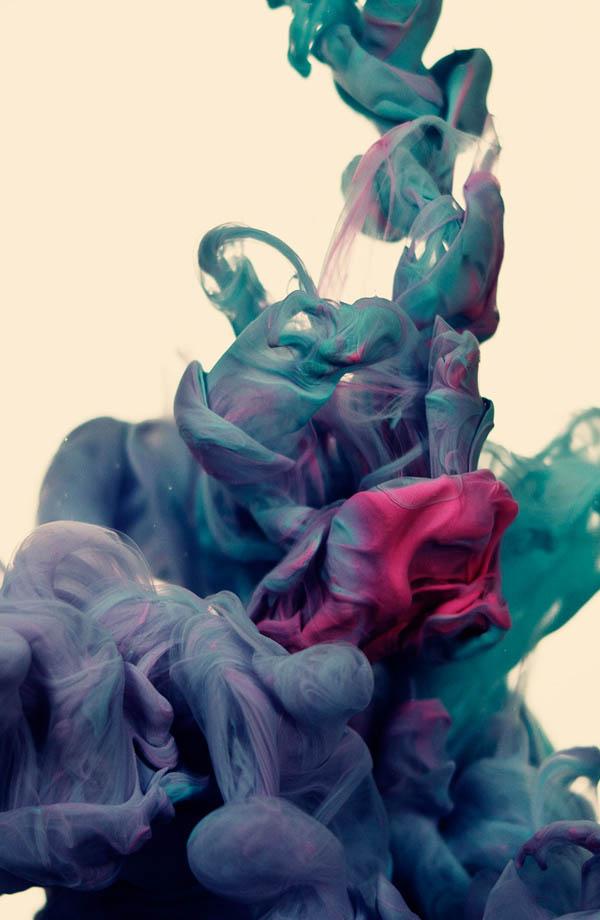 plumes of ink underwater alberto seveso 3 Incredible Plumes of Ink Photographed Underwater