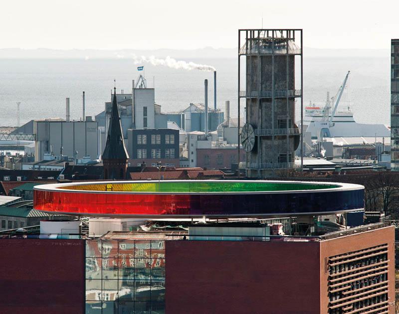 rainbow walkway panorama denmark 1 The Rainbow Walkway Panorama in Denmark