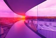 The Rainbow Walkway Panorama in Denmark
