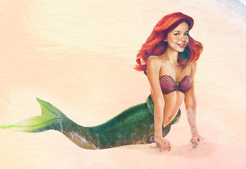 real life disney character aerial little mermaid What Female Disney Characters Might Look Like in Real Life