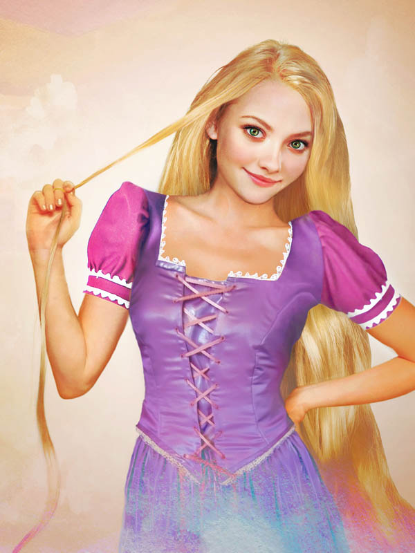 real life disney character rapunzel tangled What Female Disney Characters Might Look Like in Real Life