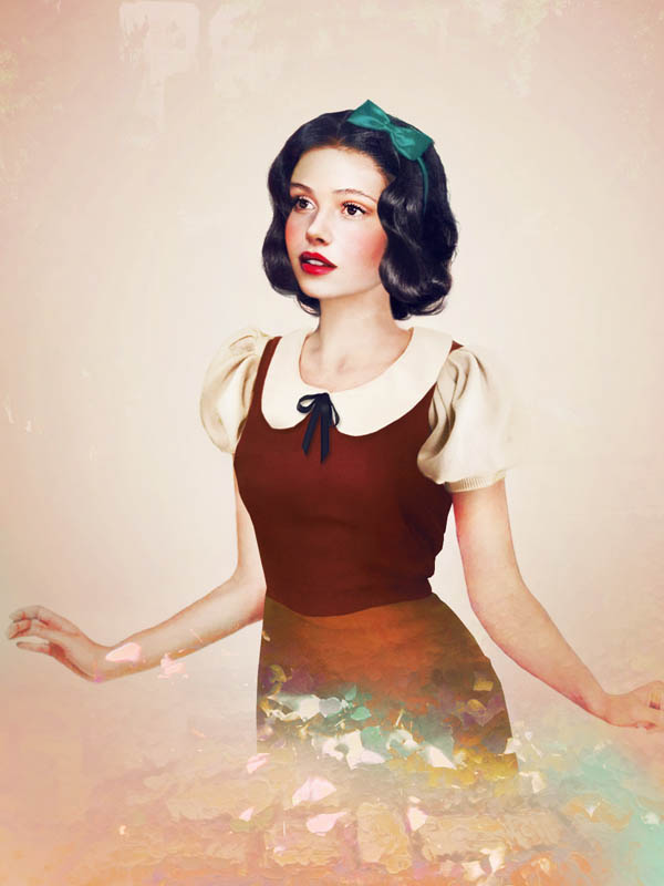 real life disney character snow white What Female Disney Characters Might Look Like in Real Life