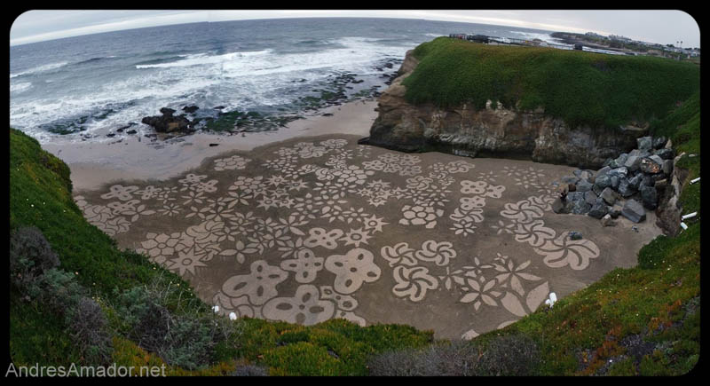 sand beach art andres amador 10 The Incredible Beach Art of Andres Amador