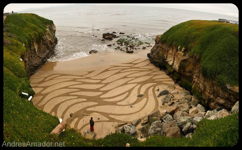 sand beach art andres amador 12 The Incredible Beach Art of Andres Amador