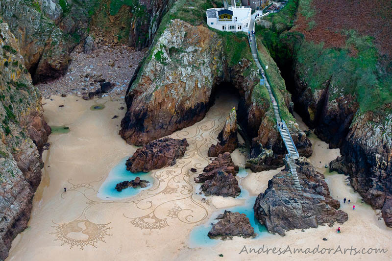 sand beach art andres amador 14 The Incredible Beach Art of Andres Amador