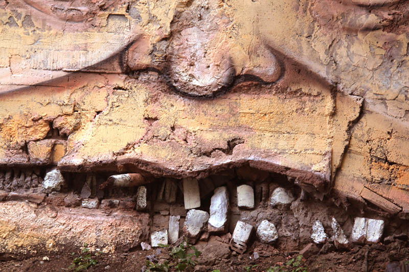 street art nikita nomerz bringing buildings to life 9 Painting Faces to Bring Buildings to Life