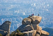 Picture of the Day: Overlooking Seoul from Bukhan Mountain