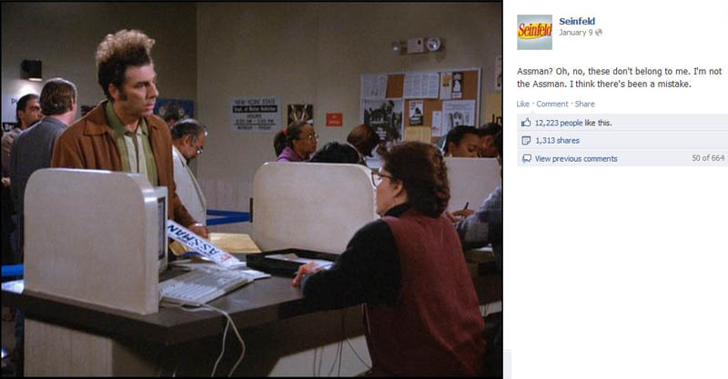 assman seinfeld 50 Glorious Moments on Seinfeld